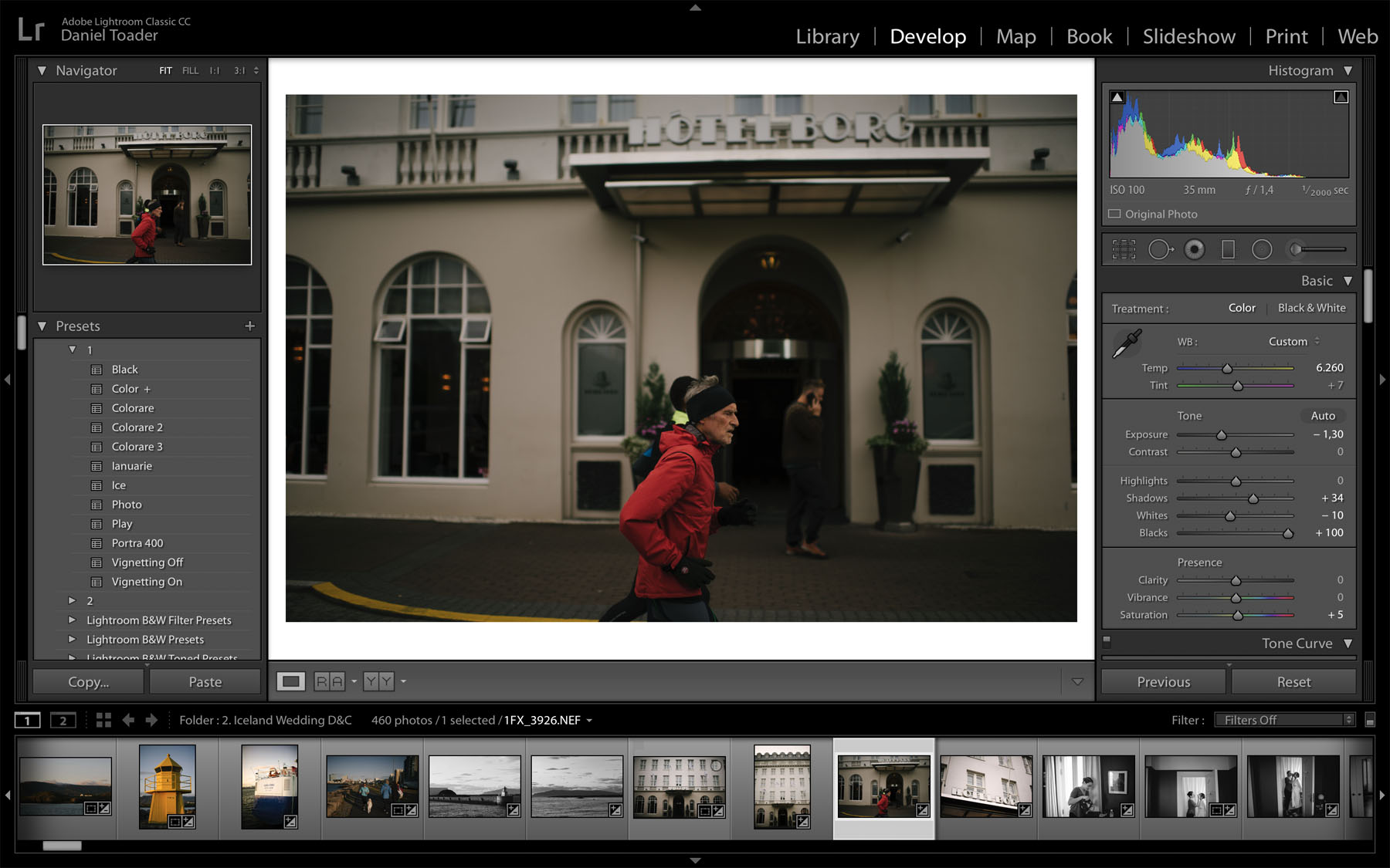 Editing Street Photography In Lightroom