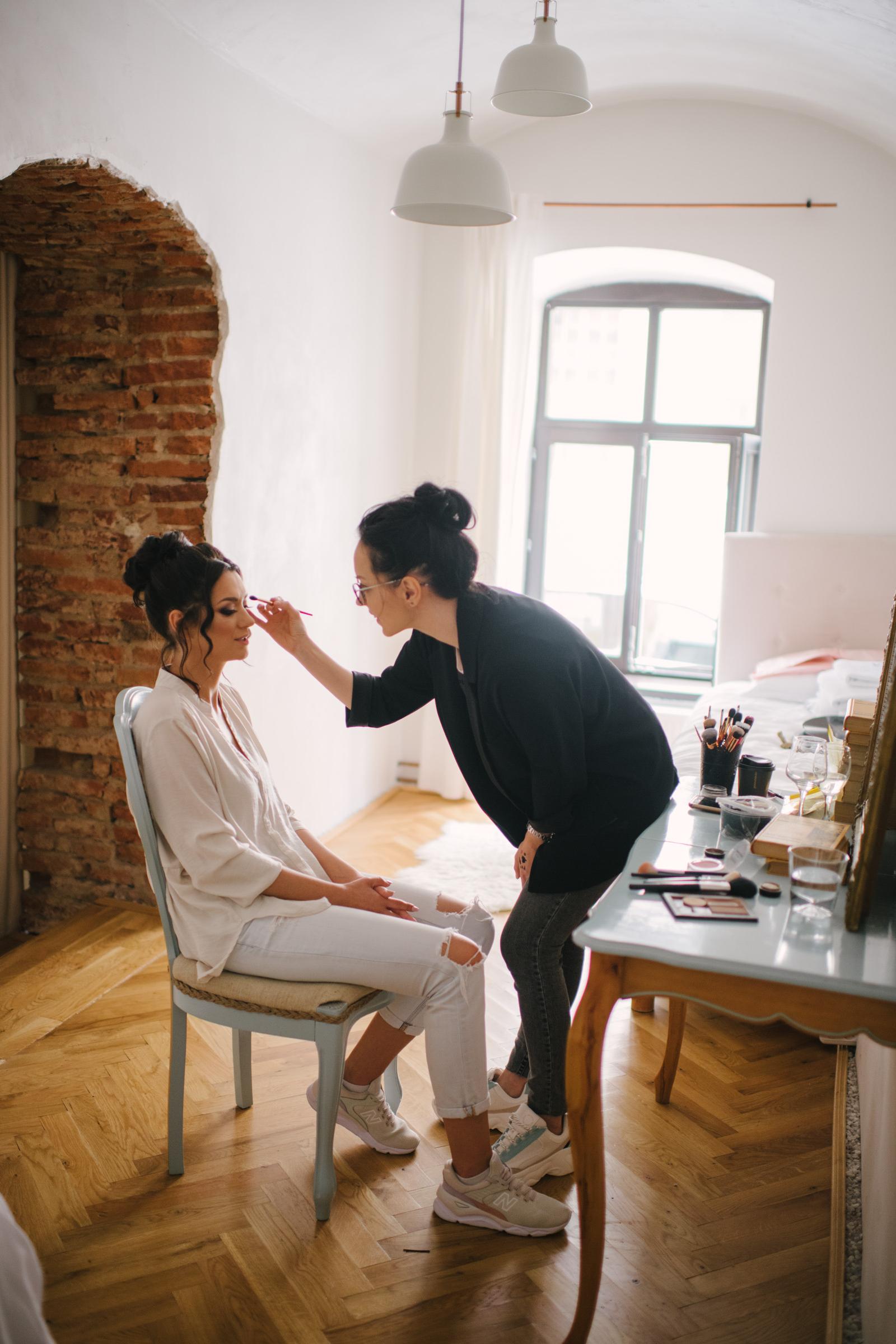 Cluj Apartments Wedding Preparations
