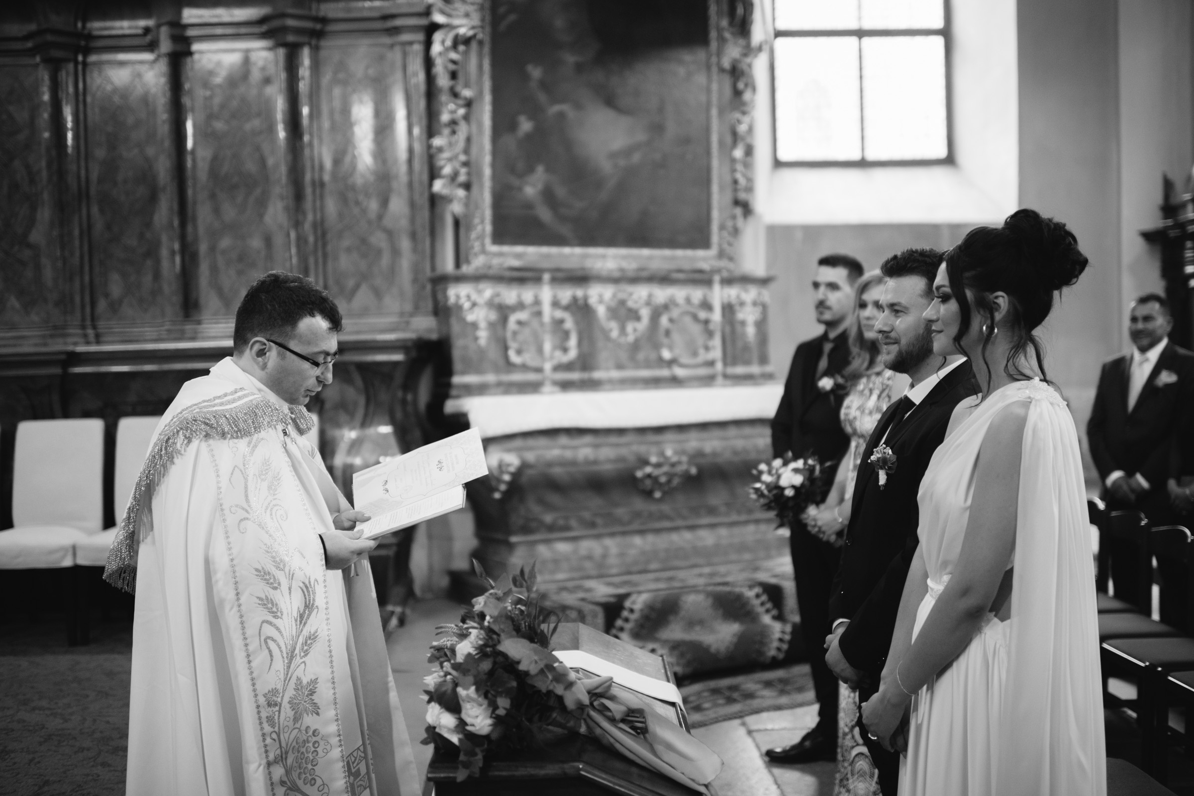 Cluj-Napoca Piarists' Church Wedding Ceremony