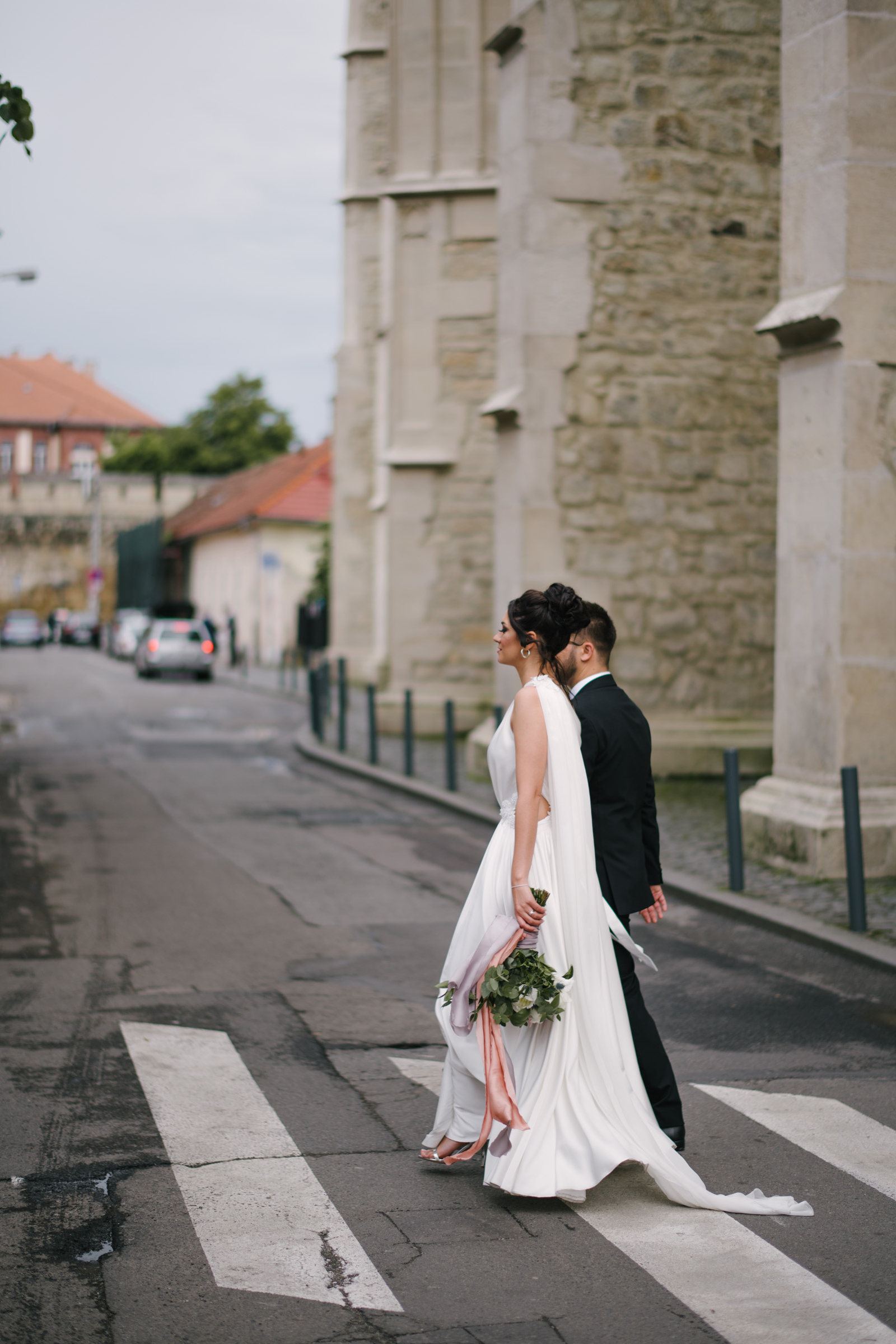 Cluj Streets Wedding Photo Session