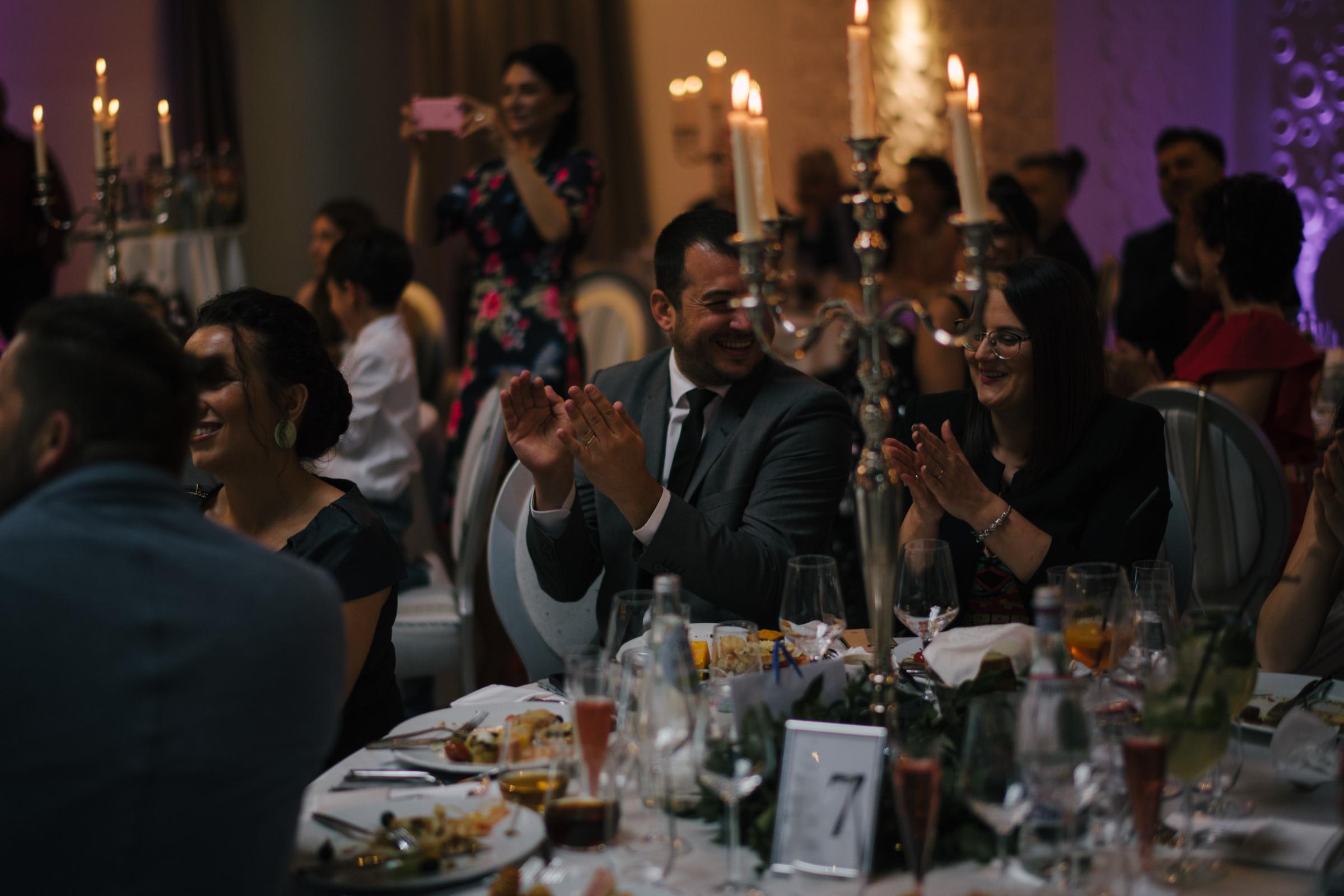 Wedding guests Congratulations